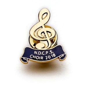 Commemorative Metal Badge