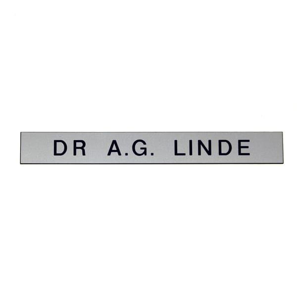 Name Plaque