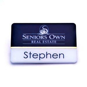 Name Badges | Printed Plastic Name Bar – CP50