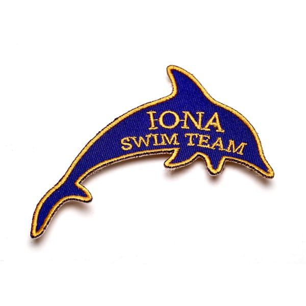 Embroidered Badge (Iona Swim Team)