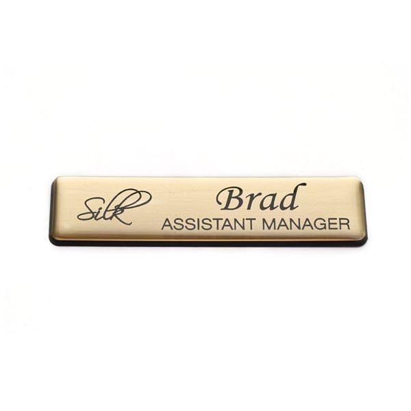 Name Badges | Lasered Plastic Name Bar – LP5015