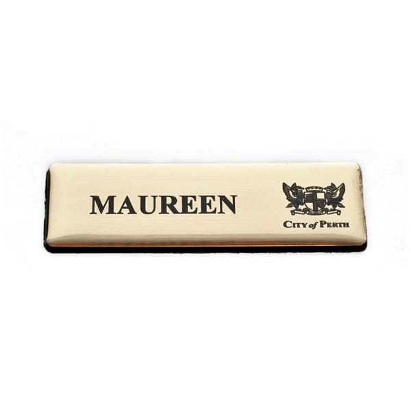 Lasered Plastic Name Bar – LP7525