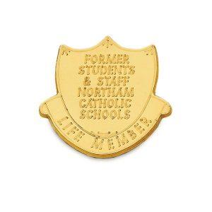Custom Engraved Special Award – PM 1190 - Metal Badge