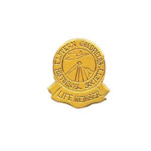 Custom Engraved Special Award – PM 1197 - Metal Lapel Badge