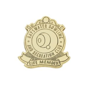 Bowling Award – PM2014 - Metal Badge