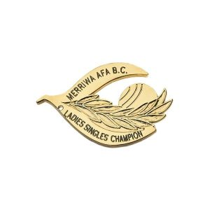 Bowling Award - Metal Badge
