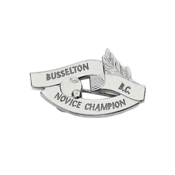 Bowling Award – PMJ 593A - Metal Badge