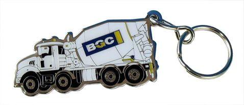 BGC Personalised Keyring