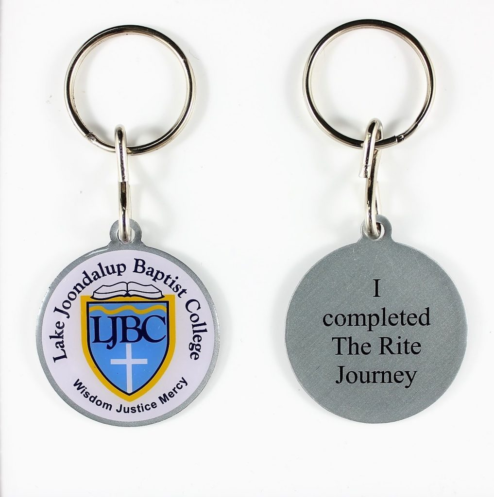 Lake Joondalup Baptist College - Personalised Keyrings