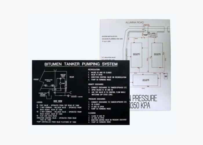Industrial Signage - Schematics