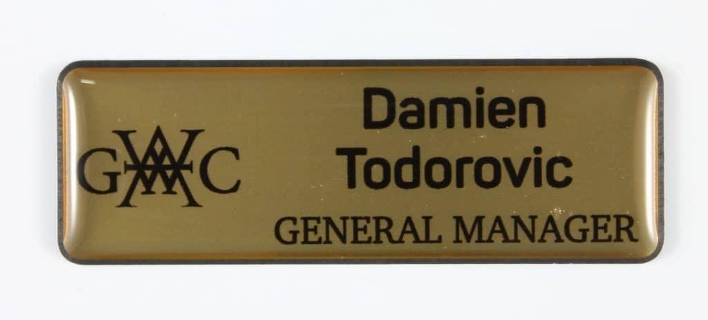 Name Badges | Western Australia Golf Club